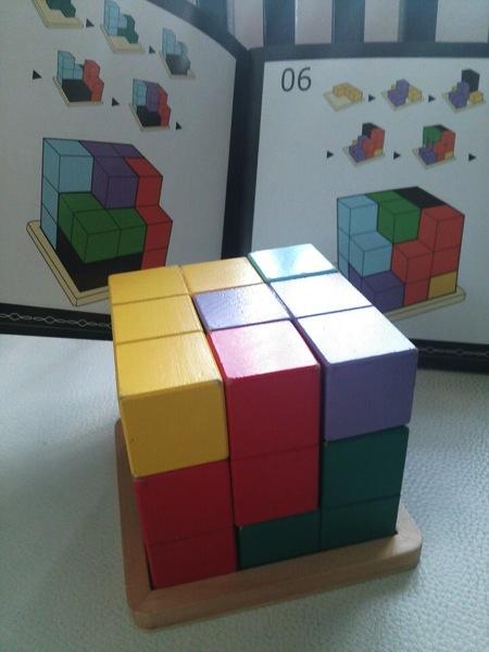 賢人パズル立方体