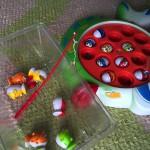 昔からよくある魚釣り「くるくるパクパクフィッシングゲーム」
