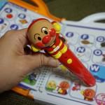 アンパンマンと言葉を楽しむタッチペン!