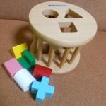 ミキハウスのローリングパズル