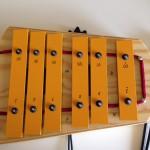 癒し系の鉄琴 スタジオ49 ペンタグロッケン 鉄琴