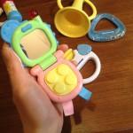 初めてのおもちゃに!ミキハウスファーストベビートイセット