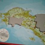 都道府県の形を覚える日本地図パズル