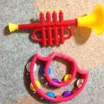 私の大好きな100円ショップで色々と探した円楽器の紹介☆