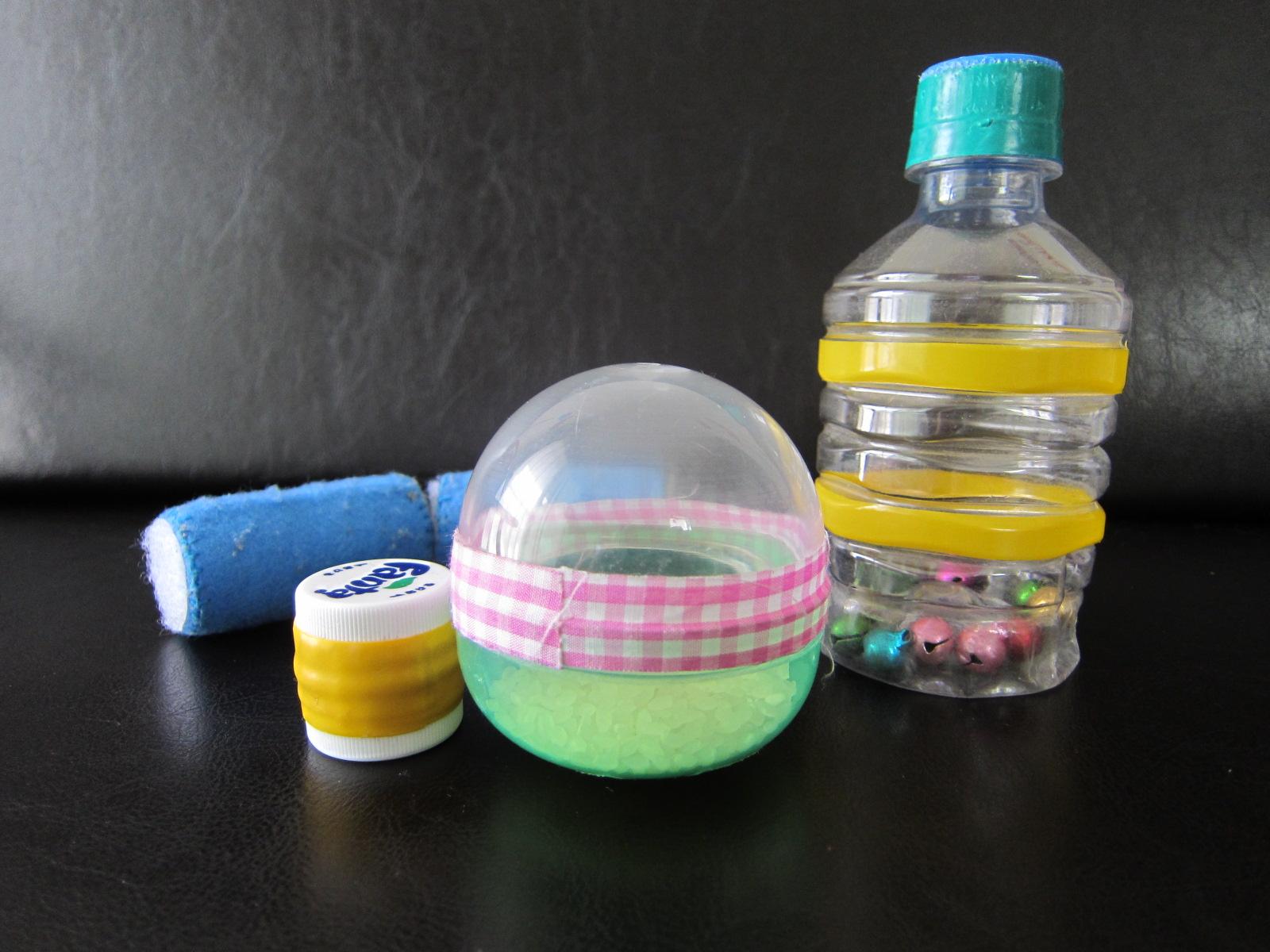 ... おもちゃ | 子育て世代の : 幼児手作りおもちゃペットボトル : 幼児