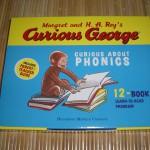おさるのジョージがいっぱい!英語遊びも勉強もできる絵本12冊セット