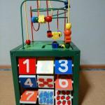 長く遊べる!いろいろ遊べる!木のぬくもりのおもちゃ箱♪森のあそび箱Ⅱ
