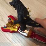3歳の息子の誕生日にウルトラマンギンガS「ヴィクトリーランサー」