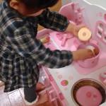 ちょっと高いけど絶対にオススメ!ピンクピンク!!ラブリーなキッチン(*^_^*)