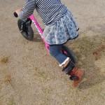 2歳の娘の誕生日プレゼントにストライダーをあげて1年経った感想