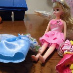 4歳の誕生日に女の子の王道 リカちゃん人形をあげました