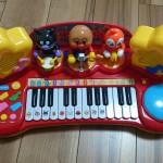 アンパンマンのキーボードで音楽を好きになる♪