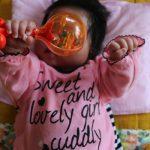 赤ちゃんが絶対泣き止むという感じではないけどお気に入りのラトル