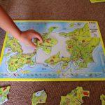 子供が日本の地理に興味をもつ!買ってよかった『大きな日本地図パズル』