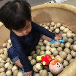 1歳の息子が大好きな適度なサイズで家でも外でも遊べるアンパンマン人形
