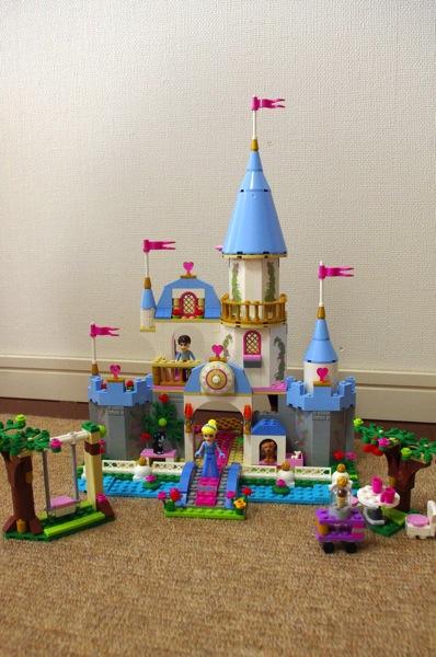 ディズニープリンセス シンデレラの城