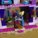 4歳と6歳の姉妹が大満足!集中力と達成感いっぱいレゴのシンデレラ城