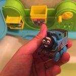 思わず長風呂になっちゃう!?1歳息子がお気に入りトーマスのオモチャ